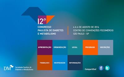 12º Congresso Paulista de Diabetes e Metabolismo
