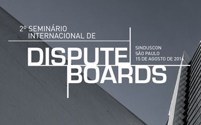 2º Seminário Internacional de Dispute Boards