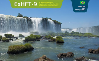 9th World Conferences on Experimental Heat Transfer, Fluid Mechanics and Thermodynamics - ExHFT-9