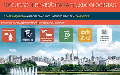10º Curso de Revisão para Reumatologistas