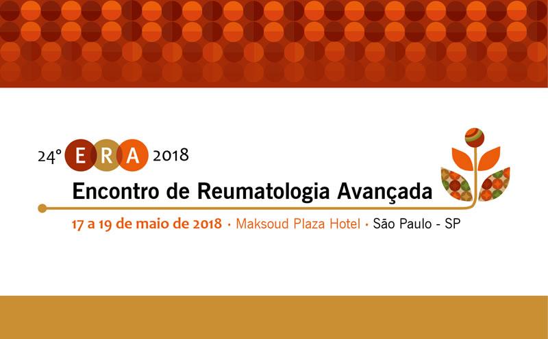 24º Encontro de Reumatologia Avançada - ERA 2018