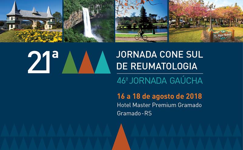 21ª Jornada Cone Sul de Reumatologia e 46ª Jornada Gaúcha