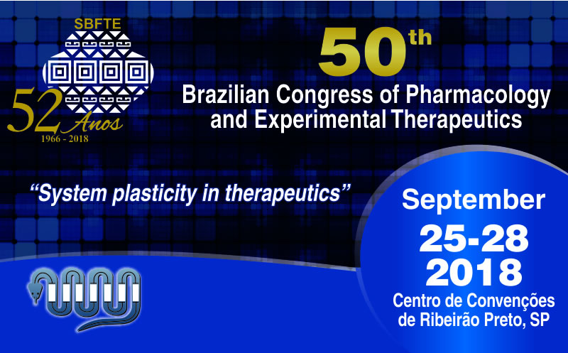 50th Brazilian Congress of Pharmacology and Experimental Therapeutics