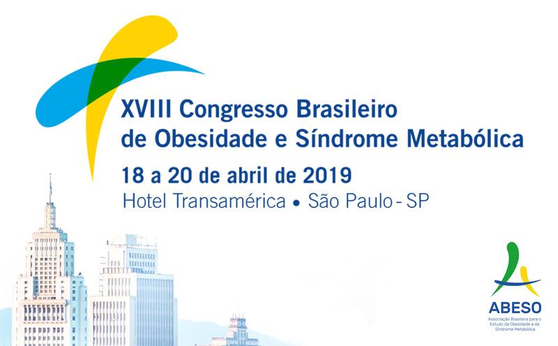 XVIII Congresso Brasileiro de Obesidade e Síndrome Metabólica