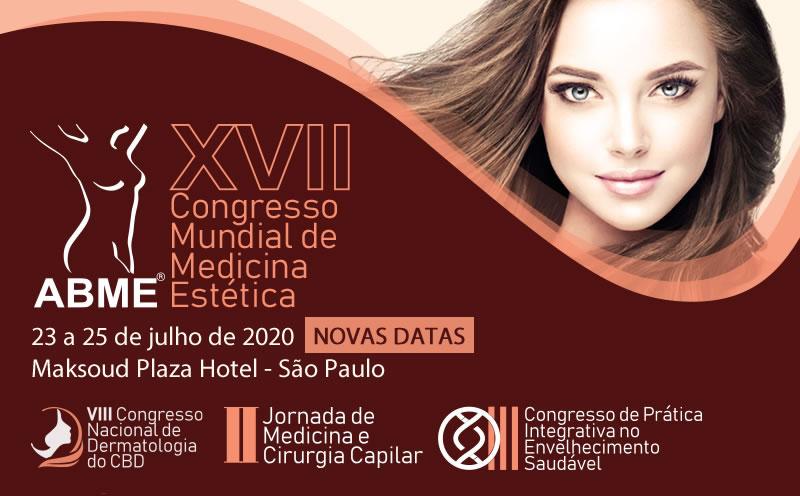XVII Congresso Mundial de Medicina Estética