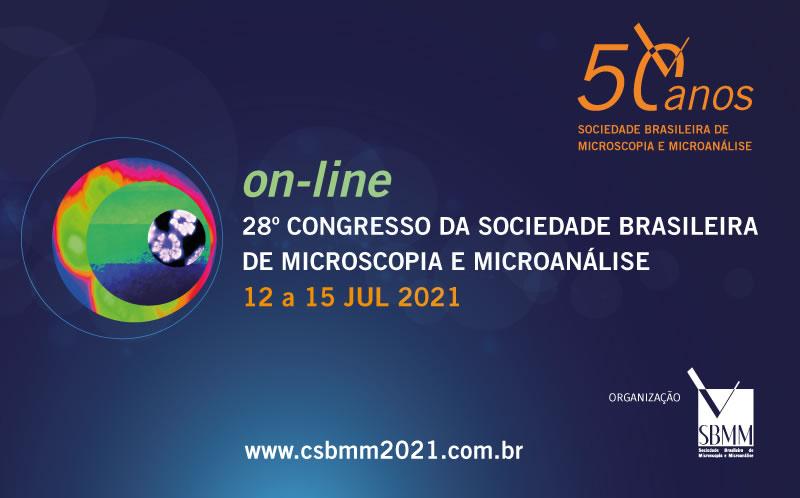 28º Congresso da Sociedade Brasileira de Microscopia e Microanálise